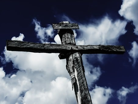 Sky, Cloud, Cross, Crucifixion, Christ, Christianity