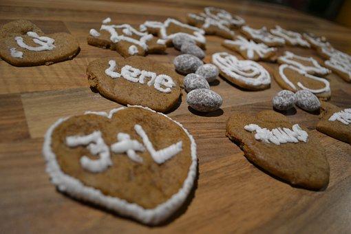Gingerbread, Christmas, Baking, Xmas, Food, Sweet