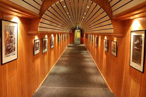 Gallery, Art, Art Gallery, Walkway, Interior, Room