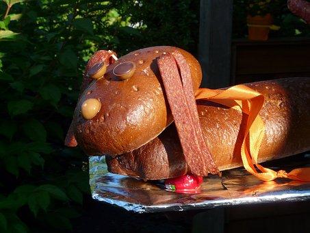 Sausage Dog, Dog, Wurstwaldi, Gift, Birthday Present