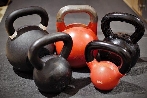 Sport, Fitness Studio, Background, Black, Body Building