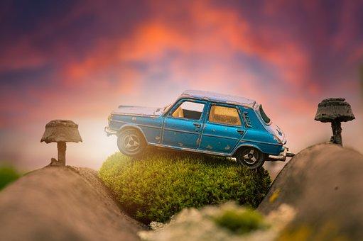 Toy, Car, Vintage, Car Model, Vehicle, Auto, Automobile