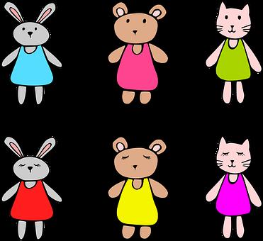 Toys, Children's, The Critters, Child, Children, Toy