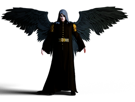 Dark Angel, Man, Fantasy, Character, Angel, Gothic