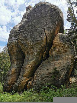 Rock, Nature, Landscape, Background, Hiking, Mountain