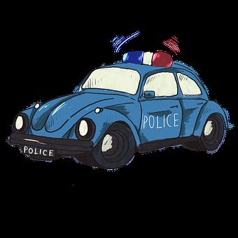 Police, Machine, Auto, Car, Sirens, Siren, Blue, Red