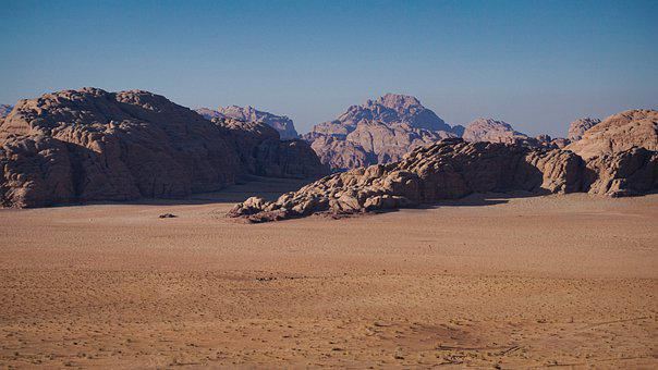 Desert, Sand, Canyon, Mountains, Travel