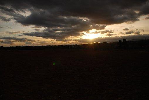 Sky, You Beckoning, Landscape, Cloudy, Sunset, Idyllic