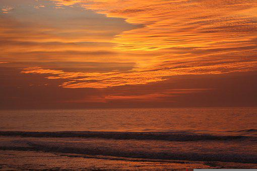 Beach, Ocean, Sea, Nature, Sky, Water