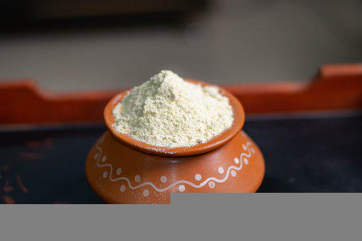 Bath Powder, Pot, Clay Pot, Storage, Rice, Green Gram