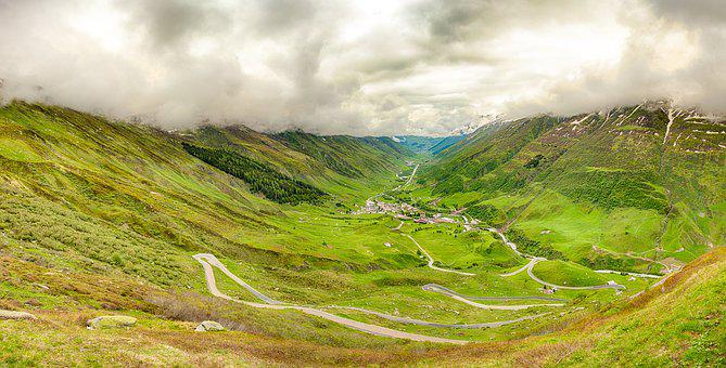 James Bond Street, Switzerland, Furka Pass, Furka