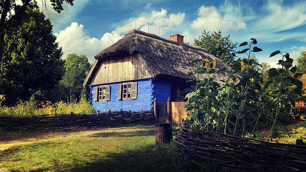 Cottage, The Museum, Open Air Museum, Architecture