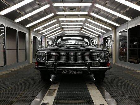 Car, Old, Auto, Motor, Lights, Black Car, Vehicle