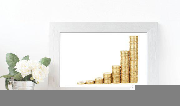 Coins, Investment, Frame, Growth, Finance, Deposit