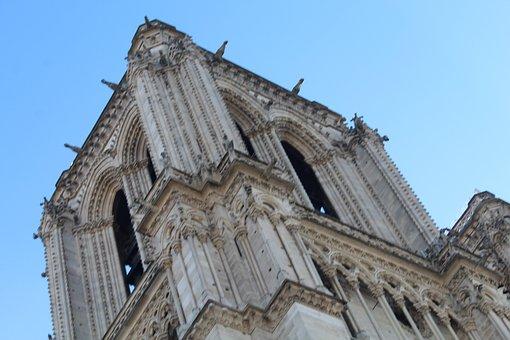 Paris, France, Notre-dame, Cathedral, Tourism, Gargoyle