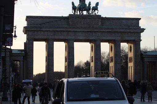 Brandenburger Gate, Berlin, Architecture, Building