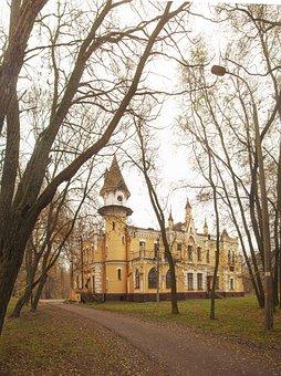 Castle, Autumn, Landscape, Architecture, Building, Park