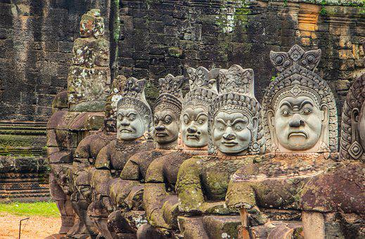 Cambodia, Angkor, Asia, Culture, Tourism, Antiquity