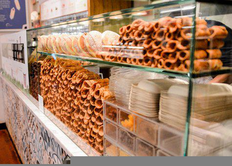 Cannoli, Dessert, New York, Market, Italian, Sweet