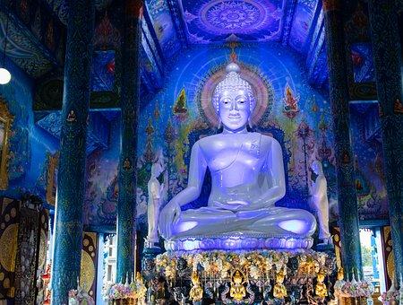 Wat Rong Suea Ten, Chiang Rai, Chiangrai, Chiang