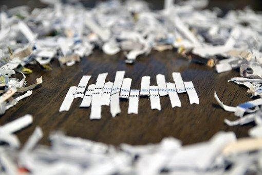Username, Password, Shredded, Paper, Shred