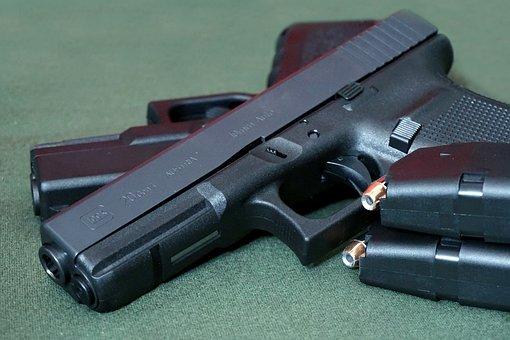 Pistol, Glock, G20, 10mm, 10mm Auto, Handgun, Gun