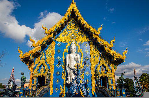 Temple, Building, Buddha, Buddhism, Symbol