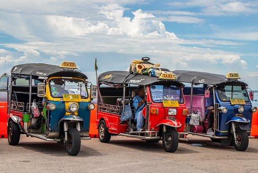 Tuk-tuk, Vehicles, Street, Three-wheelers