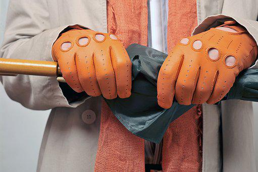 Gloves, Leather Gloves, Driving Gloves, Umbrella