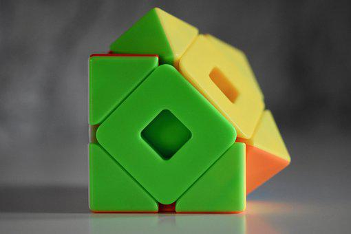 Cube, Rotation Game, Meilong Double Skewb