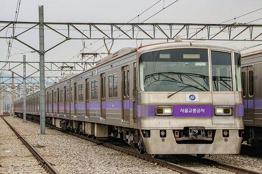Train, Railroad, Transportation, Transport, Metro
