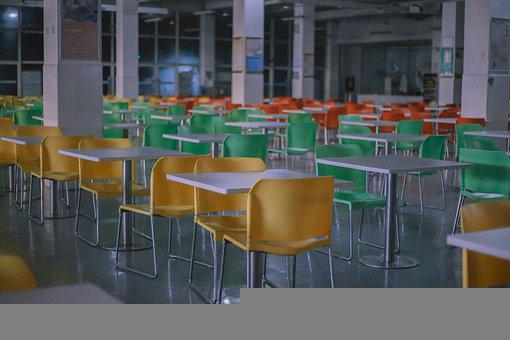 School, Chair, Canteen