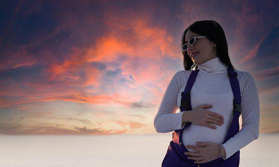 Woman, Pregnant, Pregnancy, Motherhood, Sunglasses