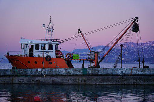 Ship, Vessel, Cargo, Transport, Transportation, Pier