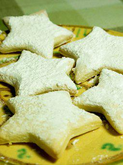 Www Cucinaamoremioit, Biscuits, Stars, Yogurt, Light