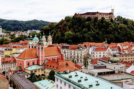 Slovenia, Ljubljana, Tourism, Capital, Europe, City