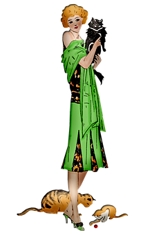 Woman, Dress, Fashion, Art Deco, Ats, Nouveau, Flapper