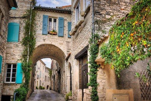 Village, Historic Center, Alley, Away, Archway, Passage