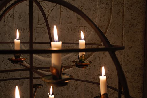 Mission Candlestick, Church, Mission, Candles