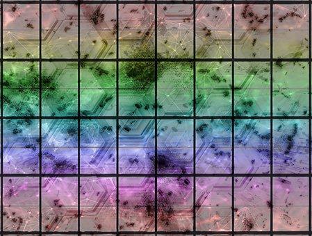 Colorful, Pattern, Square, Design, Color, Texture