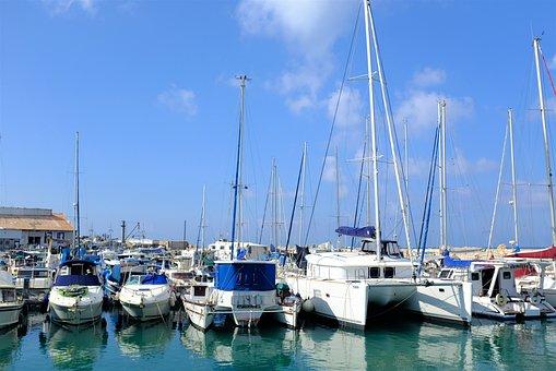 Port, Ship, Boat, Sea, Fishing, Cargo, Shipping, Yacht