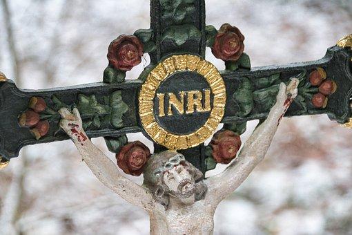 Inri, Jesus, Religion, Cross, Misfortune, Crucifixion