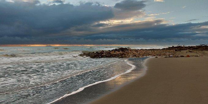 Sea, Beach, Holiday, Water, Sand, Cloud, Clouds, Island