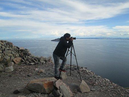 Photographer, Andes, Titicaca, Photos