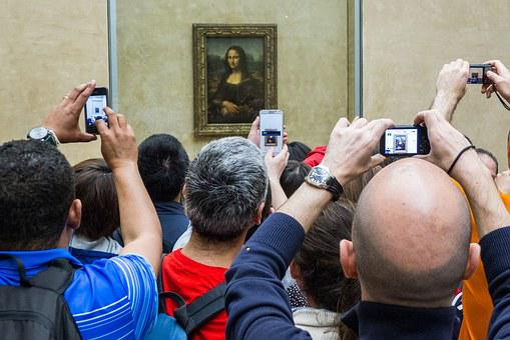 Paris, Louvre, Art, Monalisa, Tourism