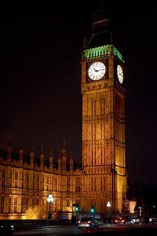 Big Ben, London, England, United Kingdom, Clock, Tower