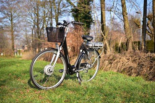 Ebike, E-bike, Bike, Photo, Landscape, Stand, Nature