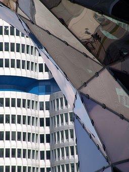 Munich, Bmw, Architecture, Bmw Welt, Bmw-hochhaus