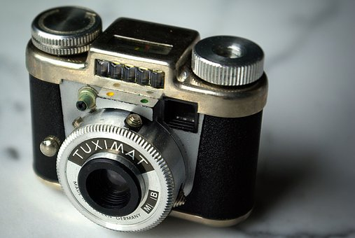 Camera, Close, Tuximat, Still Life, Old
