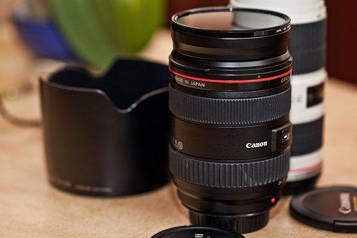 Lens, Zoom Lens, Lens średnioogniskowy, Canon Lenses